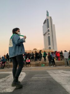Yendo a la marcha feminista