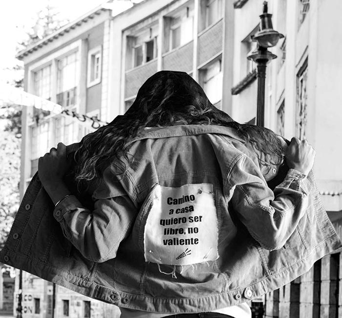 Chaqueta feminista power